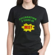 Celebrating Me! 3rd Birthday Tee