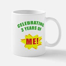Celebrating Me! 3rd Birthday Mug