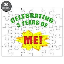 Celebrating Me! 3rd Birthday Puzzle