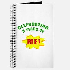 Celebrating Me! 5th Birthday Journal