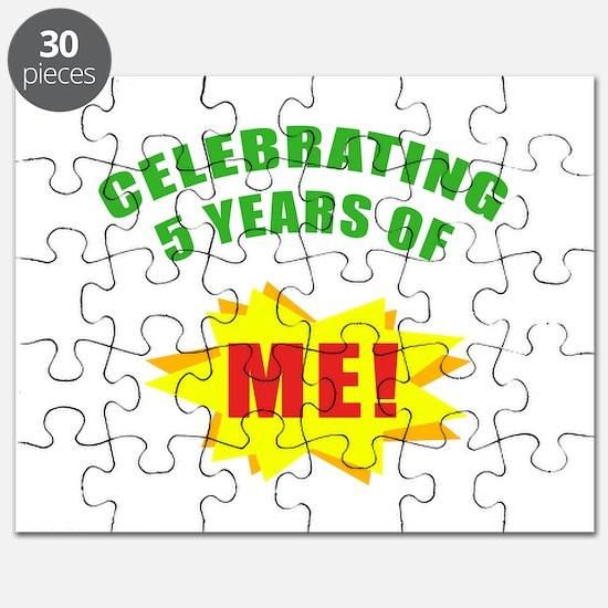 Celebrating Me! 5th Birthday Puzzle