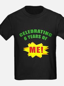 Celebrating Me! 6th Birthday T