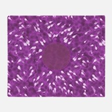 Little Swimmers - Pink Throw Blanket