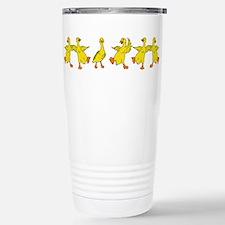 Dancing Ducks Stainless Steel Travel Mug