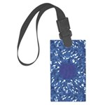 Little Swimmers - Blue Large Luggage Tag