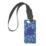 Little Swimmers - Blue Small Luggage Tag
