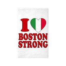 Italian Boston pride 3'x5' Area Rug