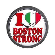Italian Boston pride Wall Clock