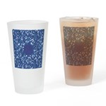 Little Swimmers - Blue Drinking Glass