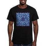 Little Swimmers - Blue Men's Fitted T-Shirt (dark)
