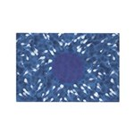 Little Swimmers - Blue Rectangle Magnet (100 pack)