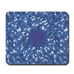Little Swimmers - Blue Mousepad
