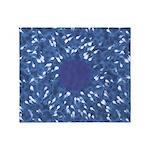 Little Swimmers - Blue Throw Blanket