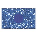Little Swimmers - Blue Sticker (Rectangle 10 pk)