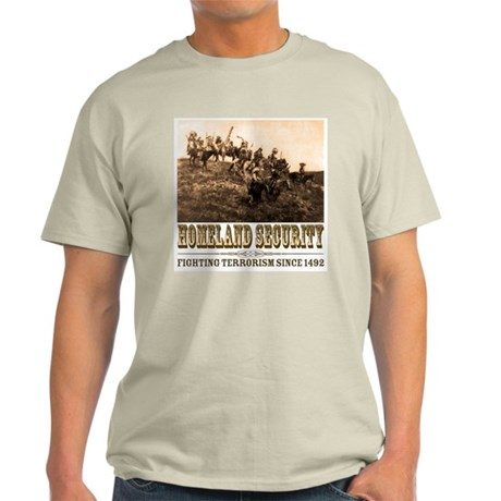 Homeland Security - War Party Ash Grey T-Shirt