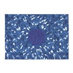 Little Swimmers - Blue 5'x7'Area Rug