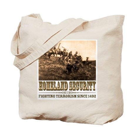 Homeland Security - War Party Tote Bag