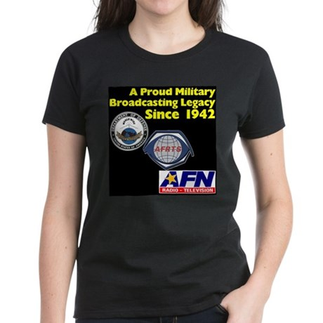 Historic Logos Women's Dark T-Shirt