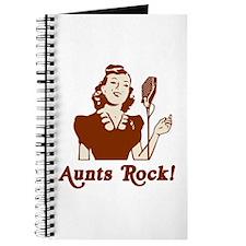 Retro Aunts Rock Journal