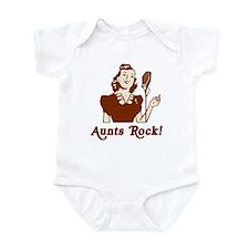 Retro Aunts Rock Infant Bodysuit
