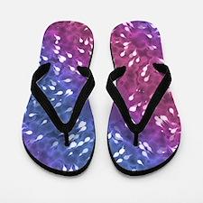 Little Swimmers - Blue/Pink Flip Flops