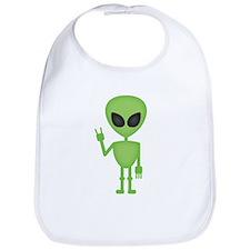 Aliens Rock Bib