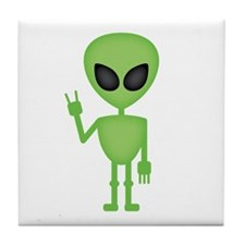 Aliens Rock Tile Coaster