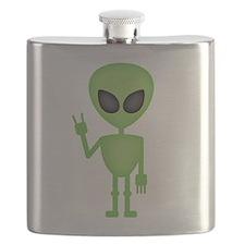 Aliens Rock Flask