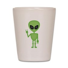 Aliens Rock Shot Glass