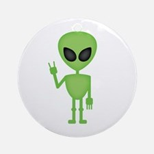 Aliens Rock Ornament (Round)