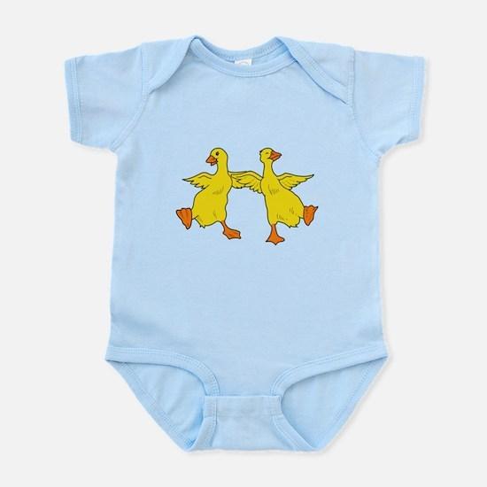 Dancing Ducks Infant Bodysuit