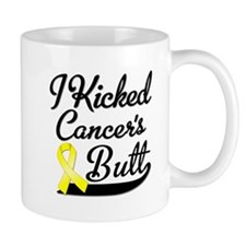 I Kicked Sarcoma Cancer Butt Mug