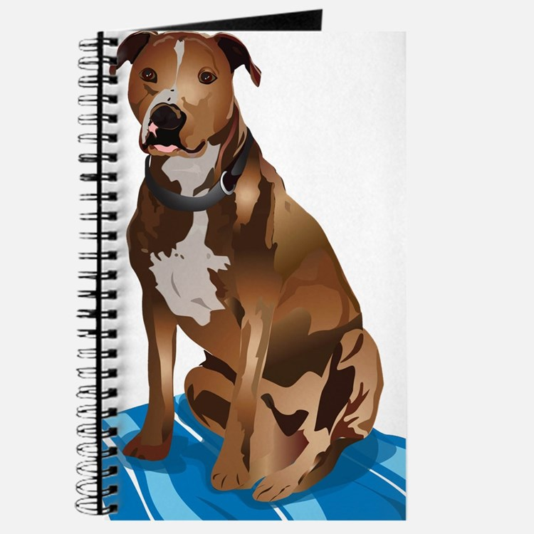 Pitbull Brown nbg Journal
