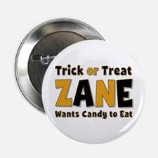 Zane Trick or Treat Button