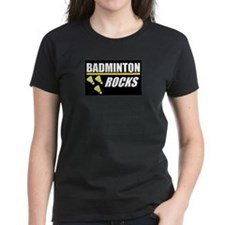 Badminton Rocks T-Shirt
