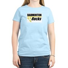 Badminton Rocks T-Shirt