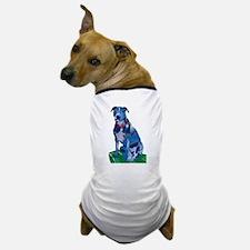 Blue Pit no background Dog T-Shirt