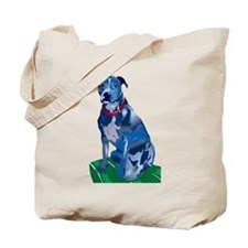 Blue Pit no background Tote Bag