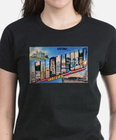 Indianapolis Indiana Greetings (Front) Ash Grey T-