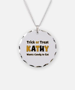 Kathy Trick or Treat Necklace