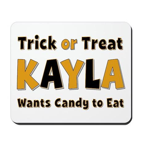 Kayla Trick or Treat Mousepad