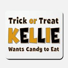 Kellie Trick or Treat Mousepad
