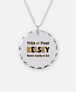 Kelsey Trick or Treat Necklace