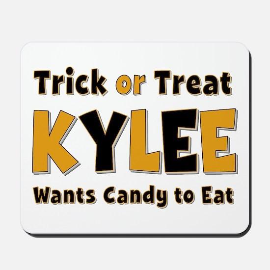 Kylee Trick or Treat Mousepad