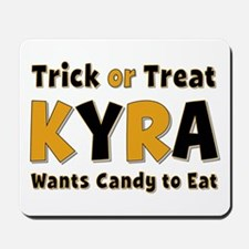 Kyra Trick or Treat Mousepad