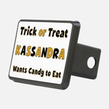 Kassandra Trick or Treat Hitch Cover