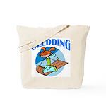 Sledding Tote Bag