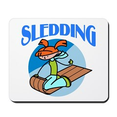 Sledding Mousepad