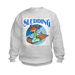 Sledding Kids Sweatshirt