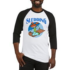 Sledding Baseball Jersey